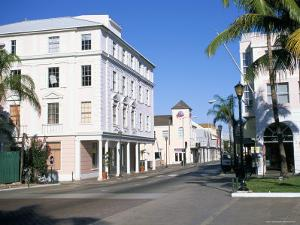 Bay Street, Nassau, Bahamas, West Indies, Central America by J Lightfoot
