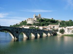 Beziers, Languedoc Roussillon, France by J Lightfoot