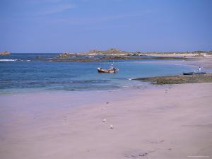 Cobo Bay, Guernsey, Channel Islands, United Kingdom by J Lightfoot