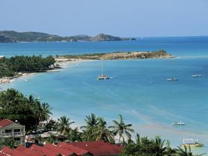 Dickenson Bay, Antigua, Leeward Islands, West Indies, Caribbean, Central America by J Lightfoot