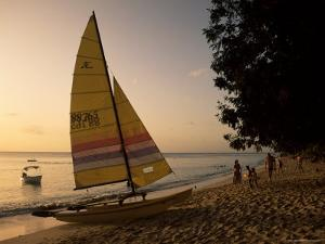 Glitter Bay, Barbados, West Indies, Caribbean, Central America by J Lightfoot