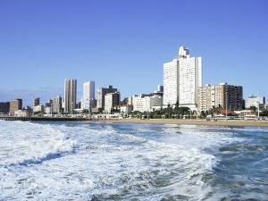Golden Mile, Durban, South Africa, Africa by J Lightfoot