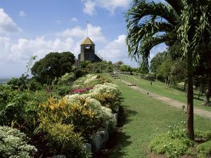 Gun Hill Signal Station, Barbados, West Indies, Caribbean, Central America by J Lightfoot