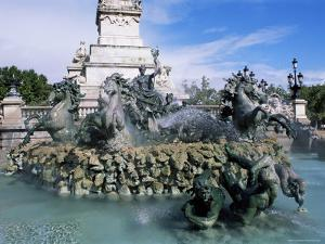 Monument Aux Girondins, Bordeaux, Gironde, Aquitaine, France by J Lightfoot