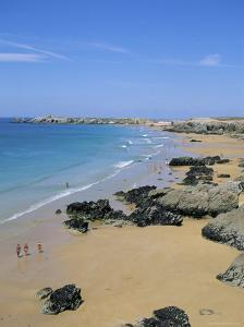 Quiberon, Cote Sauvage, Brittany, France by J Lightfoot