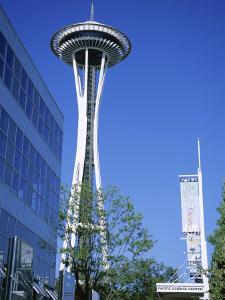 Space Needle, Seattle, Washington State, USA by J Lightfoot