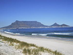 Table Mountain, Cape Town, South Africa, Africa by J Lightfoot