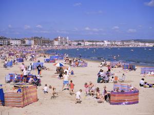 The Beach, Weymouth, Dorset, England, United Kingdom by J Lightfoot