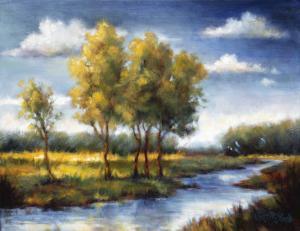 Stream Field II by J.m. Steele