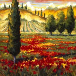 Tuscany in Bloom II by J.m. Steele