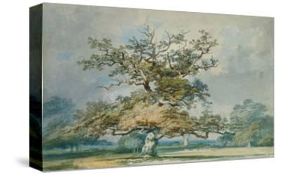 A Landscape with an Old Oak Tree