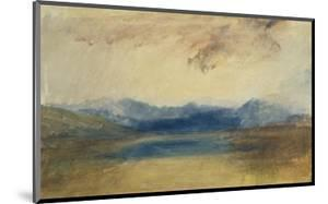 A Mountainous Landscape with a Lake by J. M. W. Turner