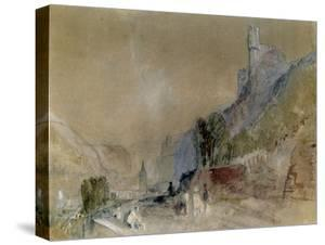 A View on the Rhine by J^ M^ W^ Turner