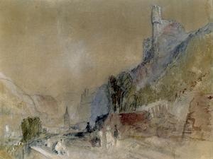 A View on the Rhine by J. M. W. Turner