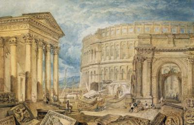Antiquities of Pola, c.1818 by J. M. W. Turner