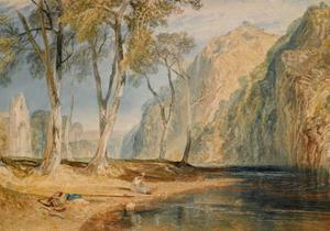 Bolton Abbey, C.1825 by J. M. W. Turner