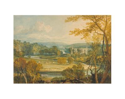Bolton Abbey by J. M. W. Turner