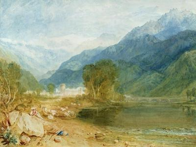 Bonneville, Savoy by J. M. W. Turner