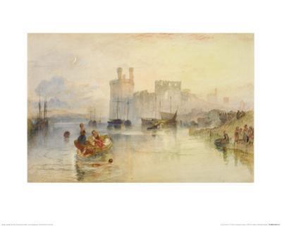 Caernarvon Castle by J. M. W. Turner
