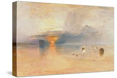 Calais Sands at Low Water, Poissards Gathering Bait, 1830