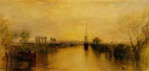 Chichester Canal, 1829 by J^ M^ W^ Turner