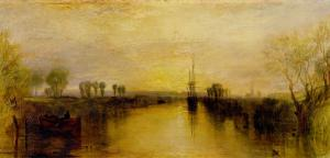 Chichester Canal, circa 1829 by J^ M^ W^ Turner