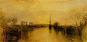 Chichester Canal by J^ M^ W^ Turner