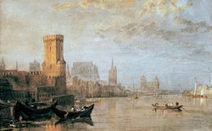 Cologne, 1817 by J^ M^ W^ Turner