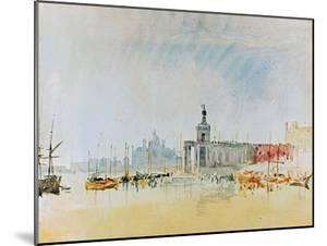 Como and Venice Sketchbook (Finberg CLXXXI) Venice: The Punta della Dogana 1819 by J. M. W. Turner