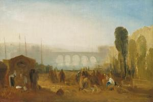 Dieppe: the Port from the Quai Henri Iv by J. M. W. Turner