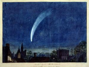Donati's Comet, 1858 (W/C on Paper) by J^ M^ W^ Turner