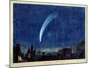 Donati's Comet, 1858 (W/C on Paper) by J^ M^ W^ Turner