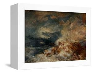 Fire Aboard Ship by J. M. W. Turner