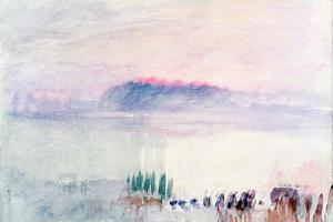 Funeral at Lausanne, 1841 by J. M. W. Turner