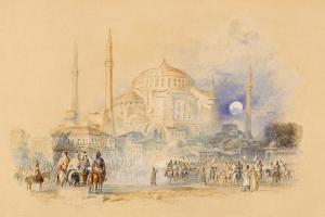 Hagia Sofia by J. M. W. Turner