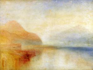 Inverary Pier, Loch Fyne, Morning, c.1840-50 by J^ M^ W^ Turner