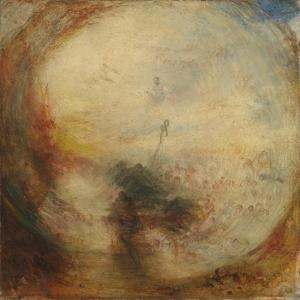 Light and Colour (Goethe's Theory), the Morning after the Deluge, Moses Writing the Book of Genesis by J. M. W. Turner