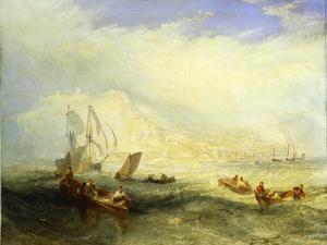 Line Fishing Off Hastings, c.1835 by J. M. W. Turner