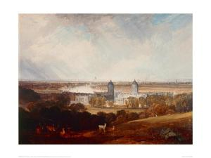 London from Greenwich Park by J^ M^ W^ Turner