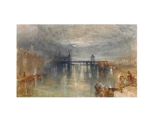 Lucerne by moonlight by J. M. W. Turner