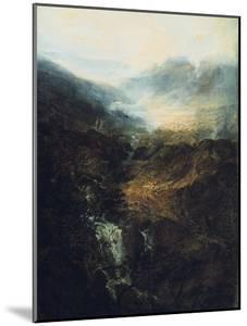 Morning Amongst the Coniston Fells, Cumberland, 1798 by J^ M^ W^ Turner