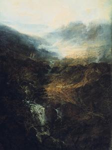 Morning Amongst the Coniston Fells, Cumberland, 1798 by J. M. W. Turner