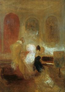 Music Party, East Cowes Castle, C1835 by J. M. W. Turner