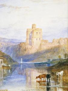 Norham Castle: an Illustration to Sir Walter Scott's Marmion, 1818 by J^ M^ W^ Turner
