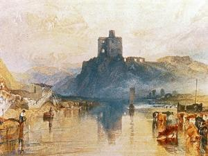 Norham Castle, on the River Tweed, Circa 1822-3, Watercolour on Paper by J^ M^ W^ Turner
