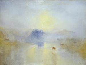 Norham Castle, Sunrise by J. M. W. Turner