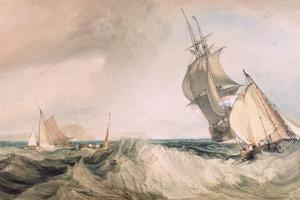 Off St. Albans Head by J. M. W. Turner