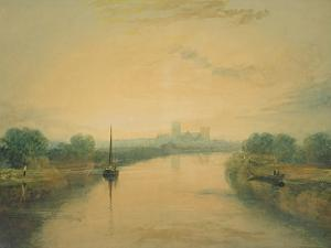 On the River Ouse by J. M. W. Turner