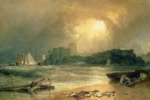 Pembroke Castle by J^ M^ W^ Turner