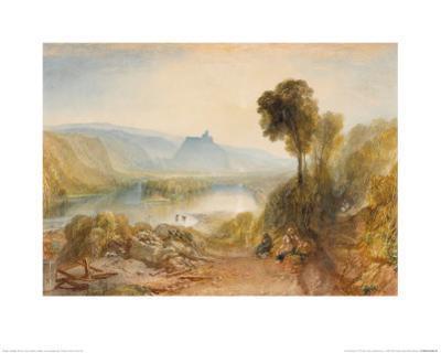 Prudhoe Castle by J. M. W. Turner